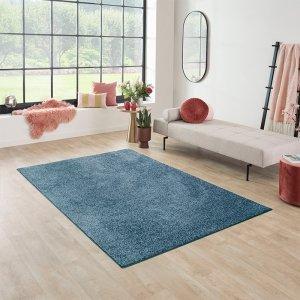 Vloerkleed Santa Fe - Turquoise - Blauw - 160 x 230