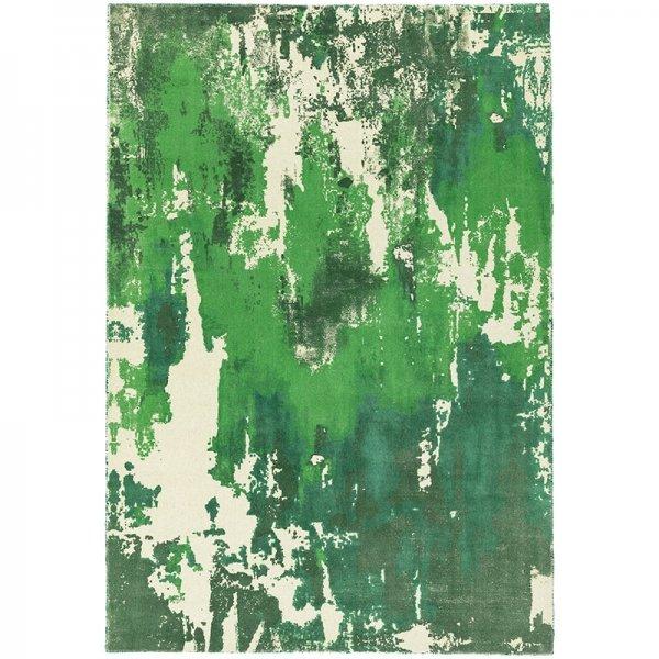 Vloerkleed Saturn - Green - Groen - 160 x 230