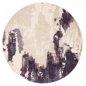 Vloerkleed Saturn - Heather - Rond - Paars