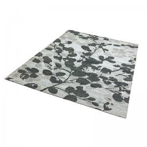 Vloerkleed Shade - Leaf Grijs - 160 x 230
