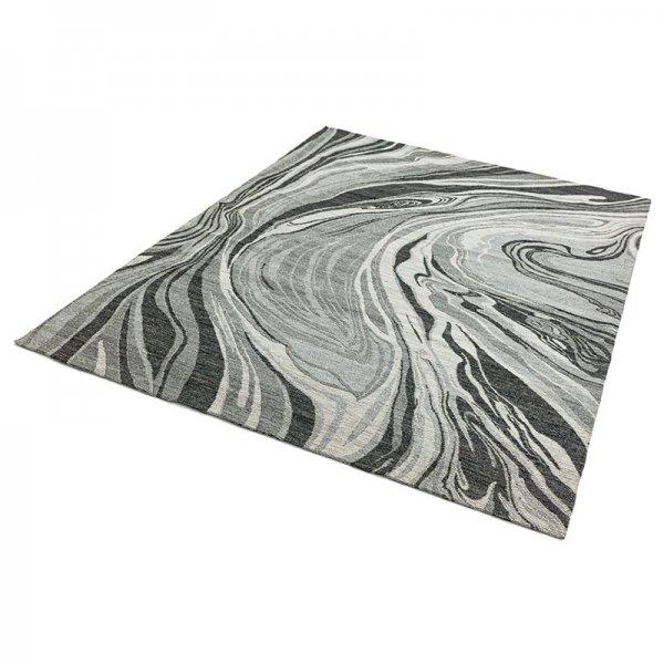 Vloerkleed Shade - Marmer Grijs - 160 x 230