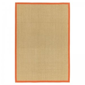 Vloerkleed Sisal - Linen/Orange - 240 x 340