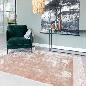 Vloerkleed Skye - Roze - 160 x 230