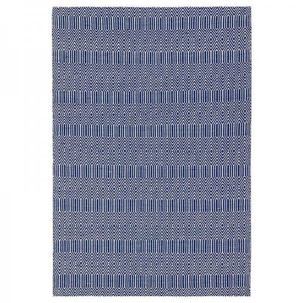 Vloerkleed Sloan - Blauw - 200 x 300