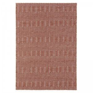 Vloerkleed Sloan - Marsala - Bruin - 160 x 230