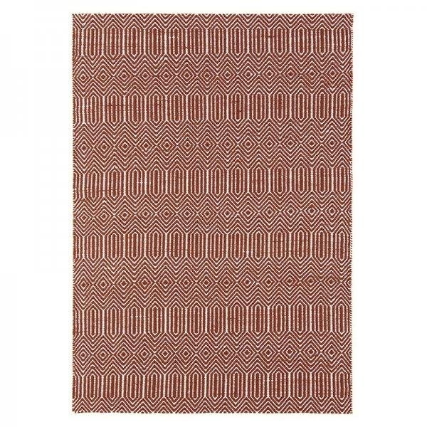 Vloerkleed Sloan - Marsala - Bruin - 120 x 170