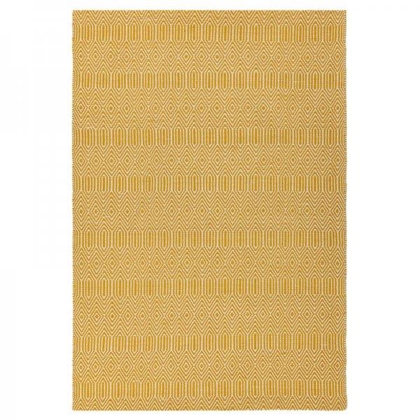 Vloerkleed Sloan - Mosterd - Geel - 160 x 230