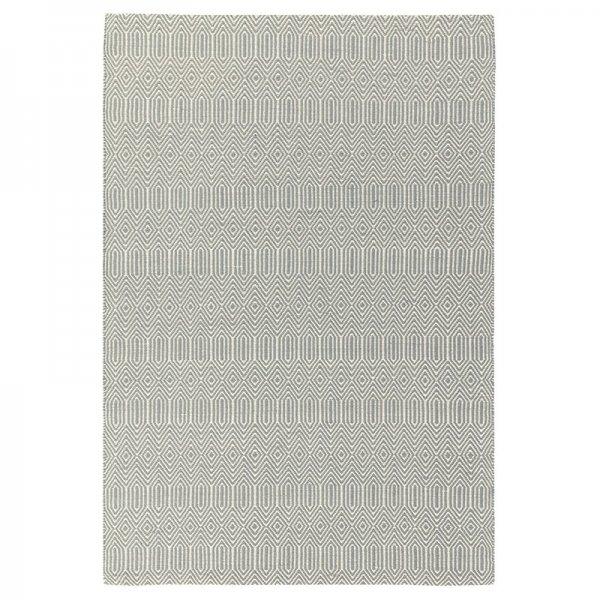 Vloerkleed Sloan - Zilver - Grijs - 120 x 170