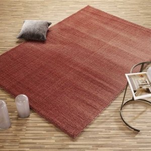 Vloerkleed Soft Dream - Terra - Rood - 140 x 200