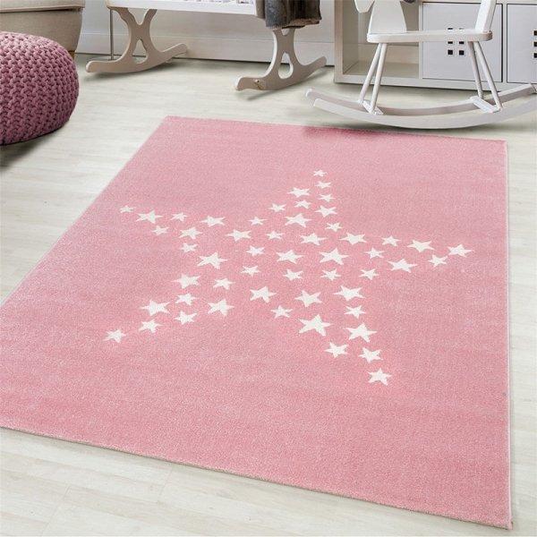 Vloerkleed Sparkling Stars - Roze - 160 x 230