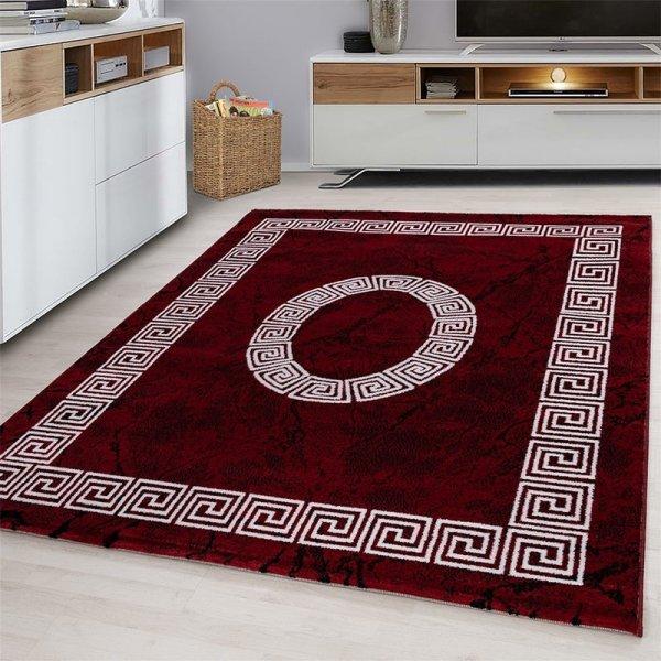 Vloerkleed - Spiral - Rood - 200 x 290