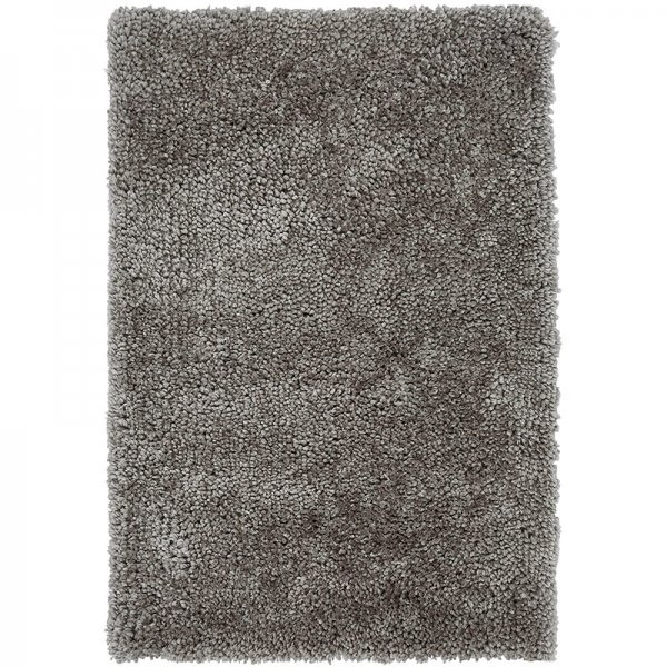 Vloerkleed Spiral Shaggy - Grey - Grijs - 200 x 290