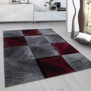 Vloerkleed Square- Rood - 200 x 290