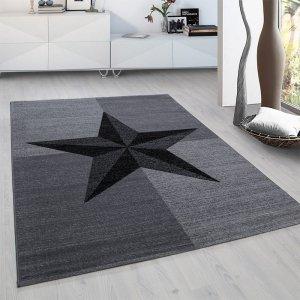 Vloerkleed Star - Grijs - 80 x 300