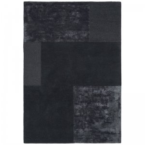 Vloerkleed Tate Tonal Textures - Charcoal - Antraciet - 160 x 230
