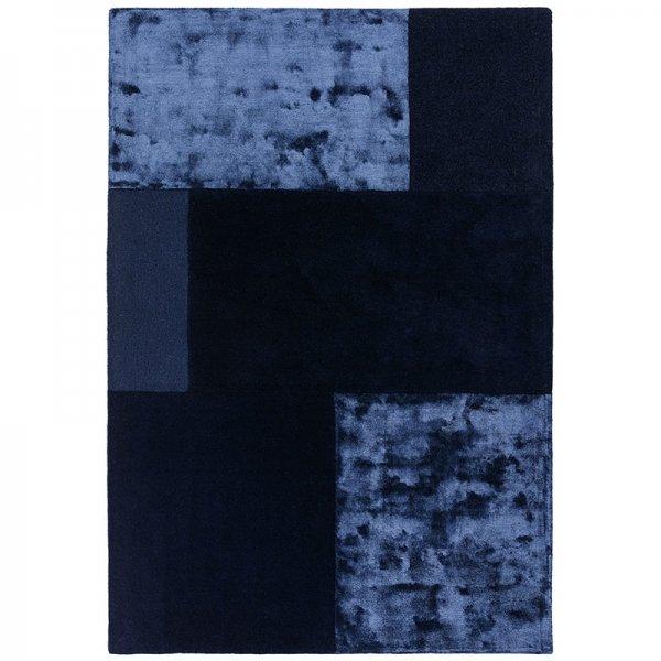 Vloerkleed Tate Tonal Textures - Navy - Blauw - 160 x 230