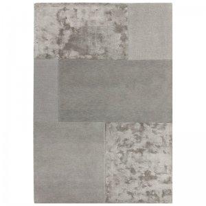 Vloerkleed Tate Tonal Textures - Silver - Zilver - 120 x 170