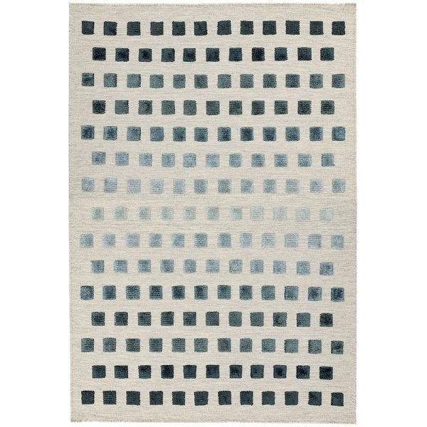 Vloerkleed Theo - Silvery Squares - 120 x 170