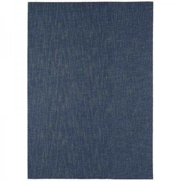 Vloerkleed Tweed - Denim - Blauw - 200 x 300