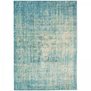 Vloerkleed Verve - Antique Blue - Blauw - 120 x 180