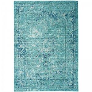 Vloerkleed Verve - Medallion Blue - Blauw - 120 x 180