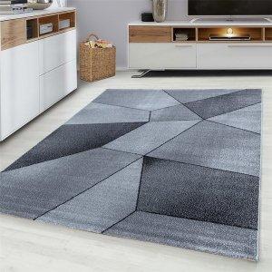 Vloerkleed Vetro - Grijs - Antraciet - 200 x 290