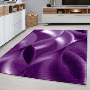 Vloerkleed Wavey - Lila - Paars - 160 x 230