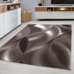 Vloerkleed - Wavey - Rechthoek - Bruin - 120 x 170