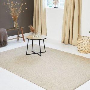 Vloerkleed Woolly - Camel - Zand - 160 x 230