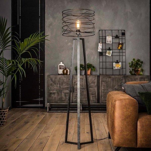 Vloerlamp Carly - Zwart