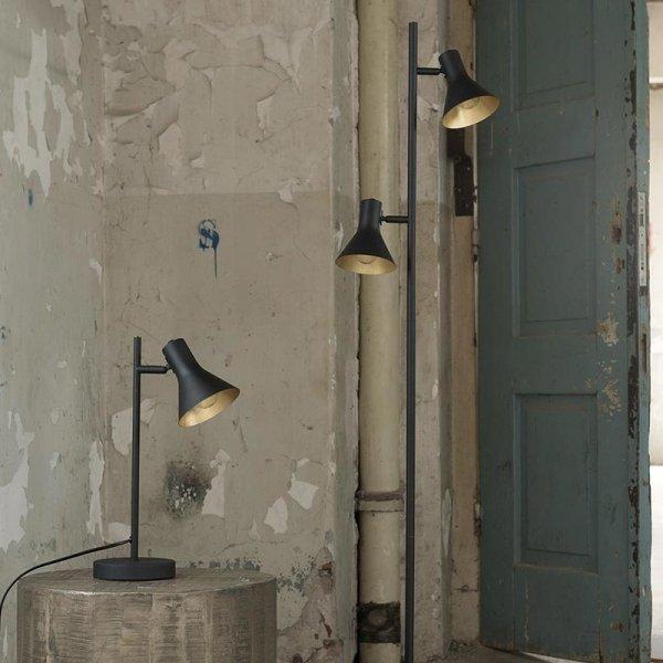Vloerlamp Ember - Zwart