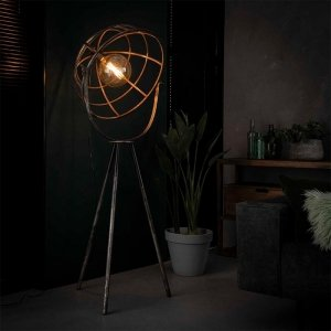 Vloerlamp Manou - Grijs