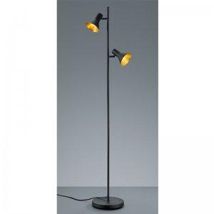Vloerlamp Nina - Metaal - Zwart