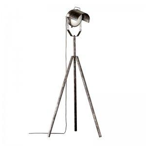 Vloerlamp No.5 - Metaal - Antiek Zilver - Grijs