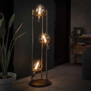 Vloerlamp Russi - 3L - Grijs