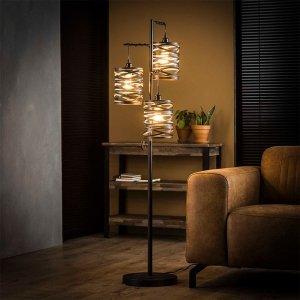 Vloerlamp Spindle - 3L - Antraciet