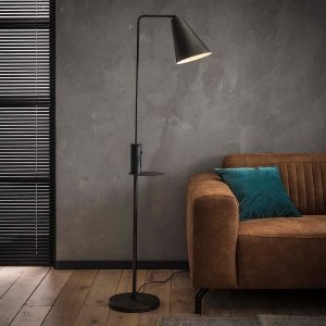 Vloerlamp Verity - Zwart