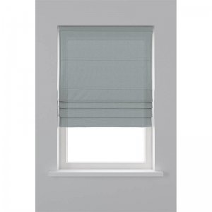 Vouwgordijn Lichtdoorlatend - Grijs - 140 x 180