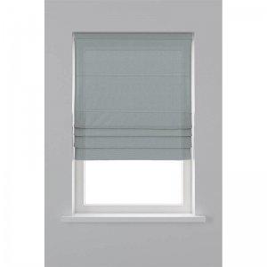 Vouwgordijn Lichtdoorlatend - Grijs - 120 x 180