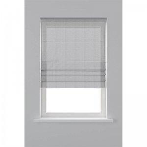 Vouwgordijn Lichtdoorlatend - Wit - 60 x 180