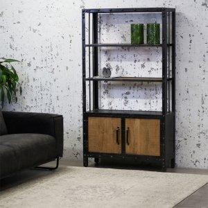 Wandkast Clemenza - Bruin