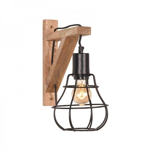 Wandlamp Drop - Zwart