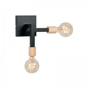 Wandlamp Loco - Zwart
