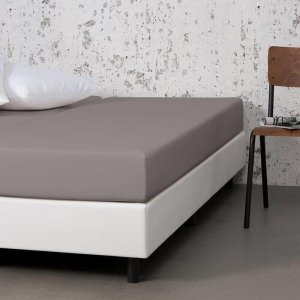 Jersey Stretch Hoeslaken - Taupe - 90 x 200
