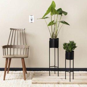 Plantenbak Lilly - Zwart