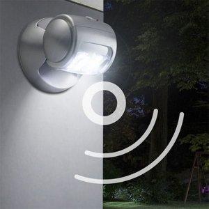 Porch Light met Sensor - Ligero - Grijs