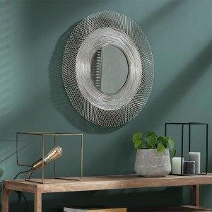 Spiegel Acapulco - 65 cm - Zilver