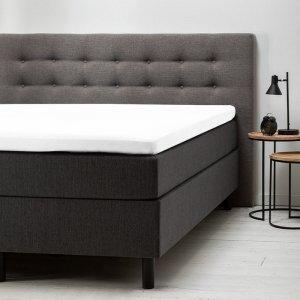 Comfort Topper Hoeslaken - Jersey - Antraciet - 120 x 200