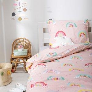 Dekbedovertrek Rainbows - Roze