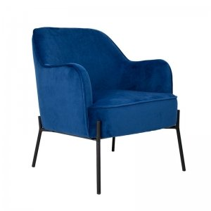 Fauteuil Lincoln - Blauw